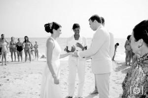 Beach vow renwal ceremony at Mazagon, Huelva